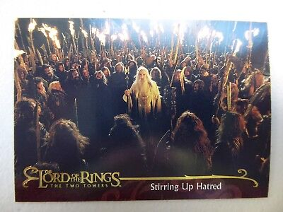 TOPPS Lord of the Rings: The Two Towers - Card #39 STIRRING UP HATRED