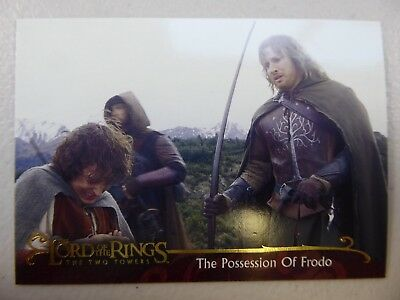 TOPPS Lord of the Rings: The Two Towers - Card #57 THE POSSESSION OF FRODO