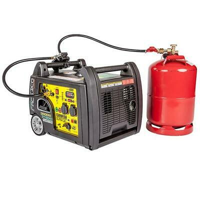 Champion Dual Fuel Inverter 3000W Benzin 2600W Gas Stromerzeuger EU mit E-Start