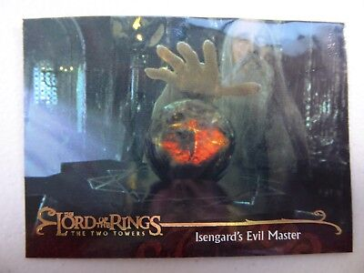 TOPPS Lord of the Rings: The Two Towers - Card #100 ISENGARD'S EVIL MASTER
