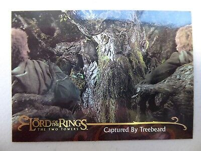 TOPPS Lord of the Rings: The Two Towers - Card #103 CAPTURED BY TREEBEARD