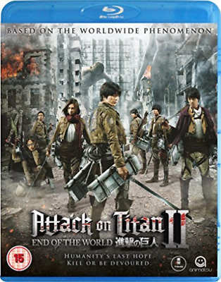 ATTACK ON TITAN - THE MOVIE 2 (UK IMPORT) Blu-Ray NEW