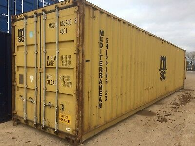 40ft Used shipping container £1250.00+VAT