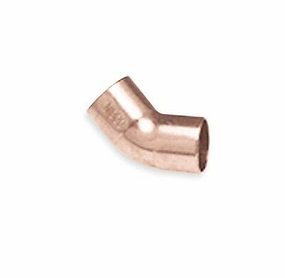 3 Elbows NIBCO C606 11/2 Elbow, 45, Wrot Copper, 1-1/2 x 1-1/2 In