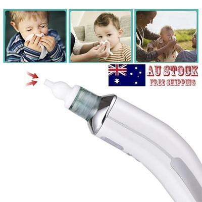 Baby Electric Nasal Aspirator Safe Hygienic Automatic Snot Sucker Nose Cleaner