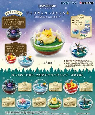 Pokemon Terrarium Collection 4 All 6 Complete Set Pokeball JAPAN OFFICIAL IMPORT