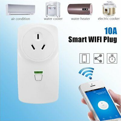 10A Wireless Wifi Smart Power AU Plug Socket Outlet Switch For ECHO ALEXA LOT AS