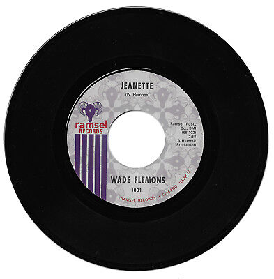 Wade Flemons Jeanette/What A Price To Pay  Northern Soul Reissue 45 Listen