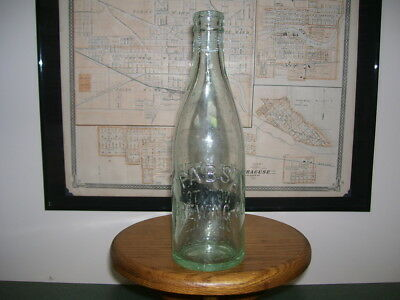 Nice 1890's Era Pabst Brewing Company Blob Beer Bottle!