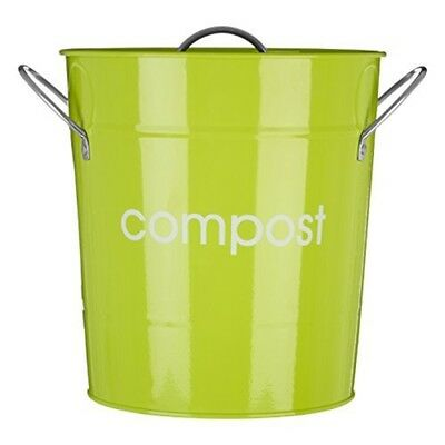 Premier Housewares Compost Bin, Lime Green By Premier Housewares - Bin