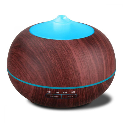 Aromatherapy Essential Oil Diffuser Ultrasonic Aroma Cool Mist Humidifier 400ml