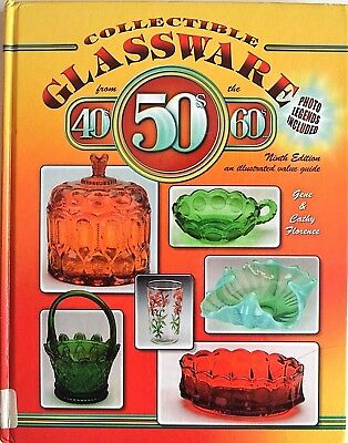 Collectible Glassware from the 40s 50s 60s Cathy Gene Florence glass guide book