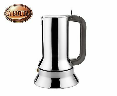 Cafetière Espresso Alessi 9090/1 1 Cup 18/10 Stainless Steel - Coffee Maker Moka