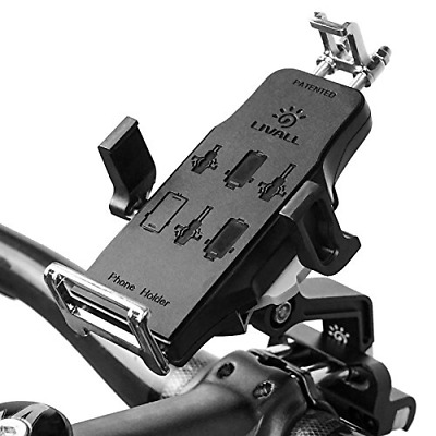 Universal Bicycle Motorcycle Bike Handlebar Mount Holder For Cell Phone NEW US