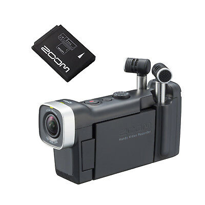 Zoom Q4n Handy Video Recorder with BT-02 Rechargeable Battery
