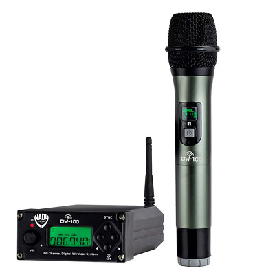 Digital Wireless Microphone 100-Channel Professional System For Live NEW HOT US