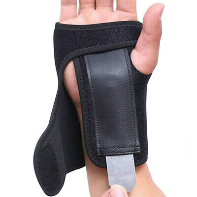 Breathable Carpel Tunnel Wrist Splint Support Brace for Pain Relief Right Left
