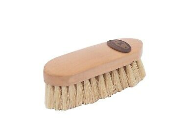 Kincade Wooden Deluxe Dandy Brush Natural Medium for Horse Grooming