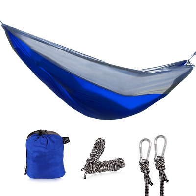 Nylon Single Hammock for Camping Backpacking, Lightweight and Portable HOT NEW
