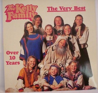 LP The Kelly Family The Very Best .. Over 10 Years