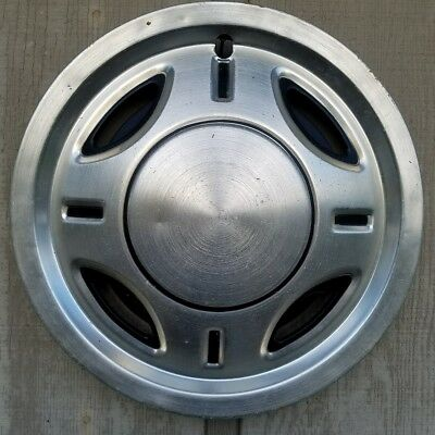 "15 "" Vintage Travel Camp Trailer wheel cover hubcap Wilderness Terry Coleman"