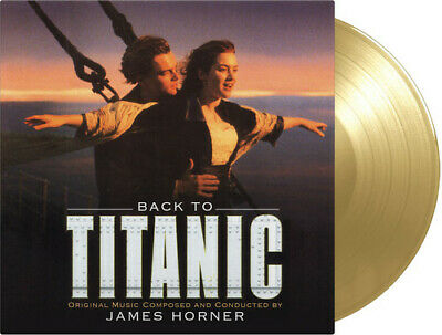 James Horner - Back To Titanic (Original Soundtrack) [New Vinyl] Gatefold LP Jac