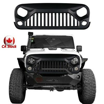Angry Bird Front Grille for Jeep Wrangler Rubicon Sahara Sports 2007-2018 JK
