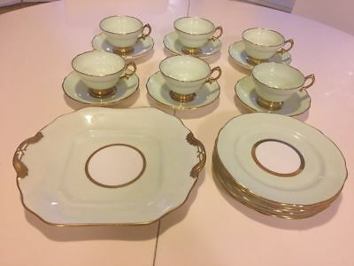 Hammersley & Co Bone China - 1940s Vintage Tea Cup Set