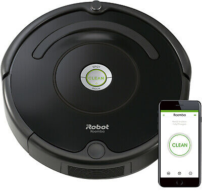 iRobot Roomba R675 Wi-Fi Connected Robotic Vacuum Cleaner