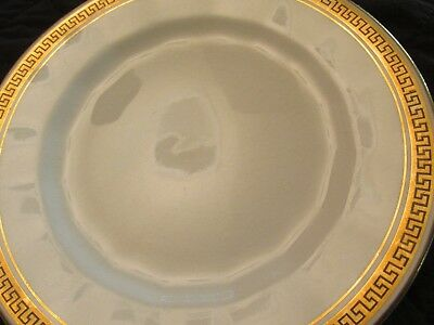 "SEMI-VITREOUS EDWIN M. KNOWLES CHINA - 6 inch saucer ""18 carat gold"""