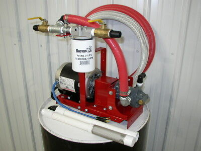 New Redline 1/2 HP Bulk/Waste Oil Transfer/Filtration Pump,Heaters,Burners,Stove