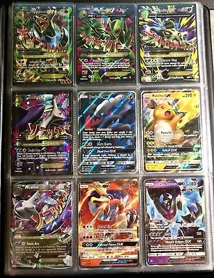 Pokemon 215 Card Premium Lot GUARANTEED 2x EX/GX/Mega/Secret & Holos (BW/XY/SM)