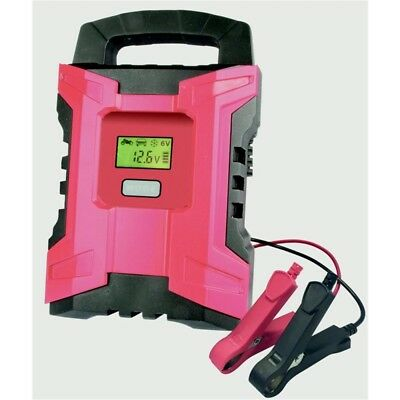 Streetwize 6/12 Fully Automatic Smart Battery Charger, 10amp