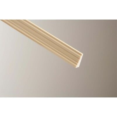 Cheshire Mouldings Barrel Light Hardwood Moulding, 9 x 21mm x 2.4m