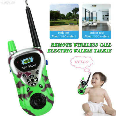 8B0F Family Games Gift Interphone Portable 1 Pair Military Drill Two Way Radio