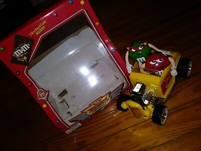 NIB M&M Dispenser Rebel Without a Cause 3rd Yellow Car