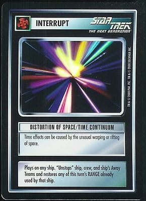 Star Trek CCG Distortion of Space/Time Continuum Foil