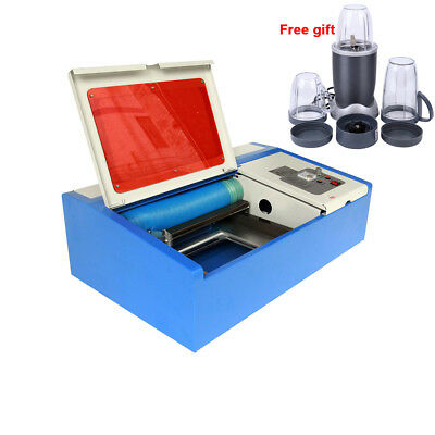 40W CO2 USB Laser Engraving Cutting Machine Engraver Cutter Wood Working Crafts
