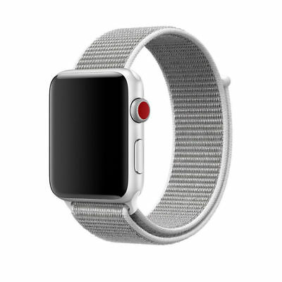 Für Apple Watch Nylongewebte Band Nylon Sport Loop Armband Serie 3 2 1 42mm