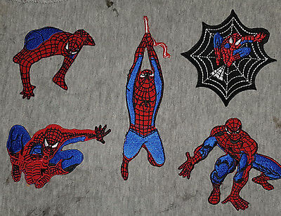 Spiderman Styles & Web Movie Iron/ Sew-on Embroidered Patch/ Logo