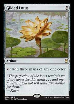 *Magic MtG: Gilded Lotus (Rare) - DOMINARIA *TOP*