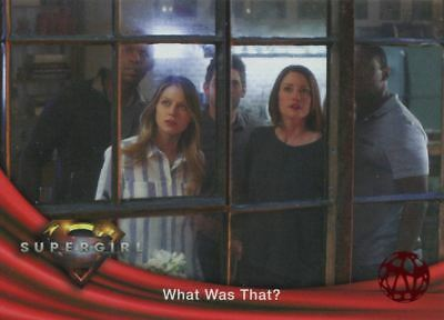 Supergirl Season 1 Red Foil Base Card #71 What Was That?