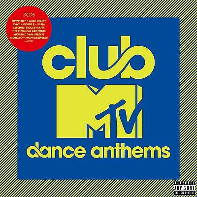 Club Mtv Dance Anthems 3 Cd Set Various Artists - New Release October 2018