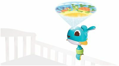 Tiny Love CODY TAKE-ALONG PROJECTOR SOOTHER BLUE Baby Night Light BN