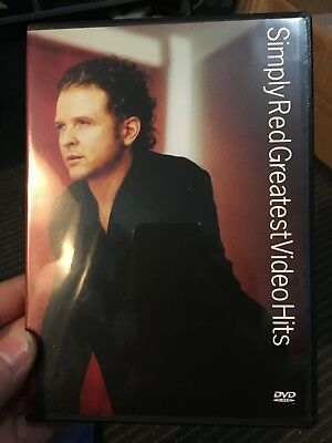 Simply Red - Greatest Video Hits region 4 DVD (music)