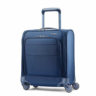 Samsonite Flexis Underseater Carry On Spinner Luggage Carbon Blue 110243-1165