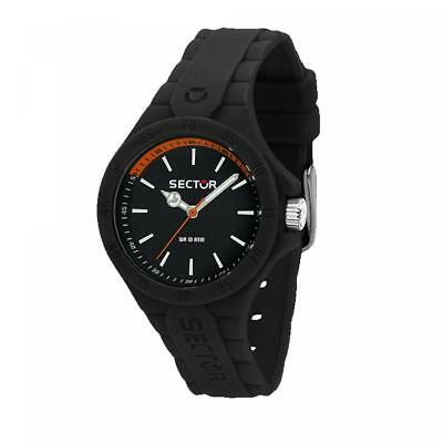 Orologio SECTOR STEELTOUCH R3251576511 Silicone Nero SMALL 34mm Unisex 100mt FIV