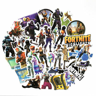 20 x FORTNITE - BATTLE ROYALE  individual Stickers  birthday Party Bag Fillers