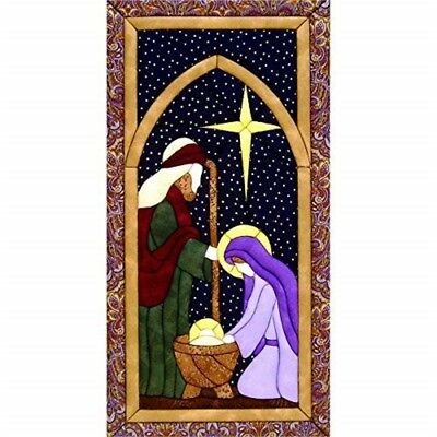 Wholt Magic Holy Family Kit, 9.5-inch x 19-inch - Quilt Kit95x19