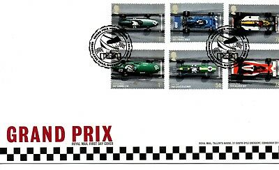 GB - FIRST DAY COVER - FDC - COMMEMS -2007- GRAND PRIX - U/A Pmk Brooklands Rd
